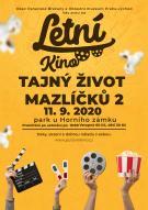 LETNÍ KINO PRO DĚTI 11.9. - animovaný film Tajný život mazlíčků 2 1